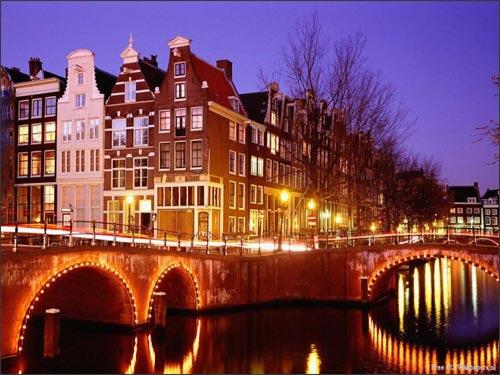 Reise nach Amsterdam