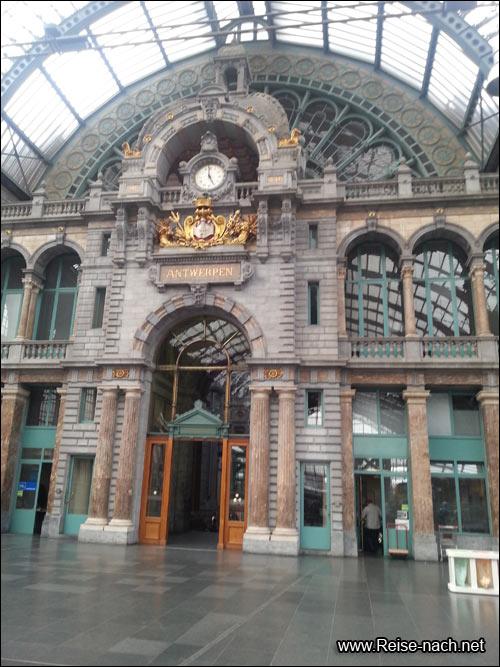 Reise nach Antwerpen