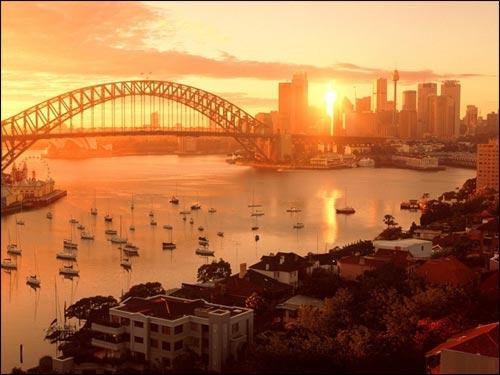 Reise nach Australien