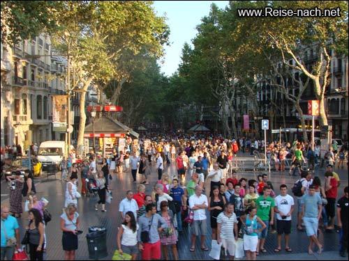 Rambles Barcelona