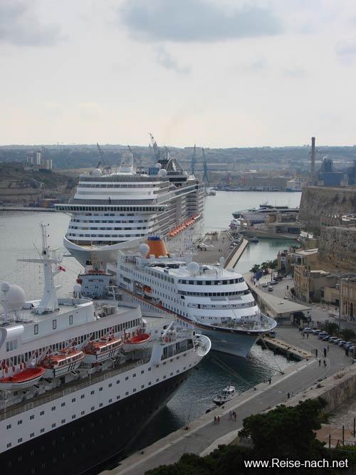 Grand Harbour Malta