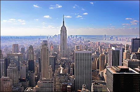 Reise nach New York City