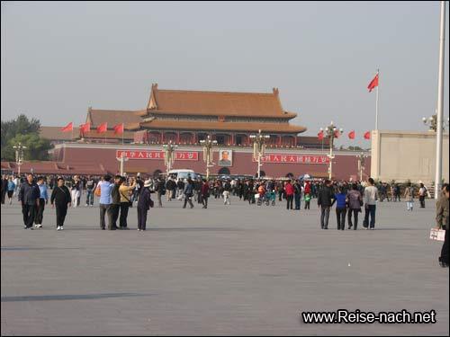 Tiananmen-Square - Platz des Tors des himmlischen Friedens