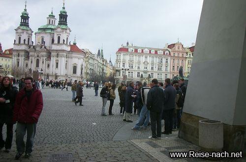 Reise nach Prag