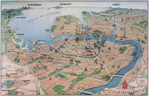 Sankt Petersburg Karte